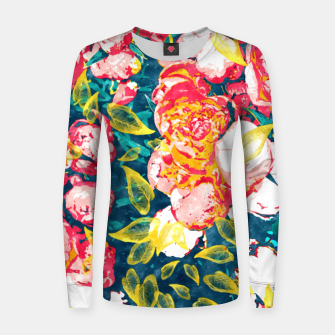 Imagen en miniatura de Nature Smiles in Flowers  Women sweater, Live Heroes