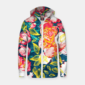 Imagen en miniatura de Nature Smiles in Flowers  Zip up hoodie, Live Heroes