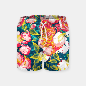 Imagen en miniatura de Nature Smiles in Flowers  Swim Shorts, Live Heroes
