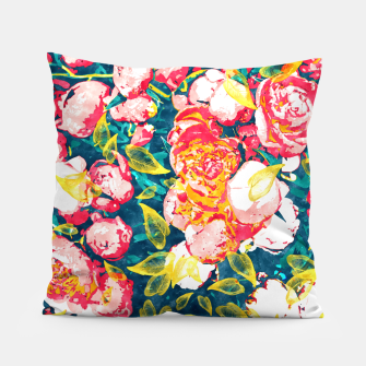 Imagen en miniatura de Nature Smiles in Flowers  Pillow, Live Heroes