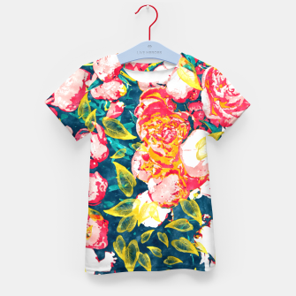 Imagen en miniatura de Nature Smiles in Flowers  Kid's t-shirt, Live Heroes