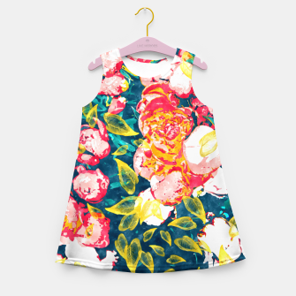 Imagen en miniatura de Nature Smiles in Flowers  Girl's summer dress, Live Heroes