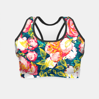 Imagen en miniatura de Nature Smiles in Flowers  Crop Top, Live Heroes