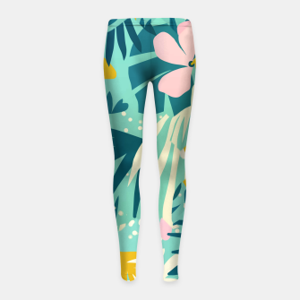 Miniature de image de Not All Those Who Wander Are Lost Girl's leggings, Live Heroes