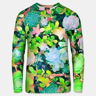 Miniatur The Desert Works Constantly To Forbid It, But The Cactus Blooms Anyway Unisex sweater, Live Heroes