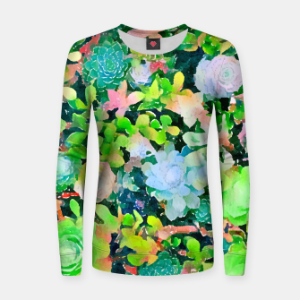 Miniatur The Desert Works Constantly To Forbid It, But The Cactus Blooms Anyway Women sweater, Live Heroes