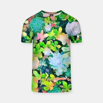 Thumbnail image of The Desert Works Constantly To Forbid It, But The Cactus Blooms Anyway T-shirt, Live Heroes