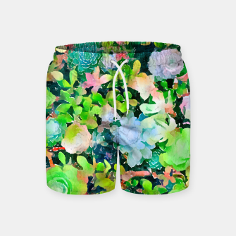 Miniatur The Desert Works Constantly To Forbid It, But The Cactus Blooms Anyway Swim Shorts, Live Heroes