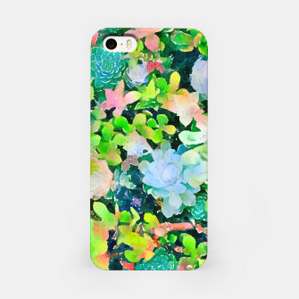 Miniatur The Desert Works Constantly To Forbid It, But The Cactus Blooms Anyway iPhone Case, Live Heroes