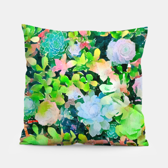 Miniatur The Desert Works Constantly To Forbid It, But The Cactus Blooms Anyway Pillow, Live Heroes