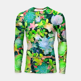 Miniatur The Desert Works Constantly To Forbid It, But The Cactus Blooms Anyway Longsleeve rashguard , Live Heroes