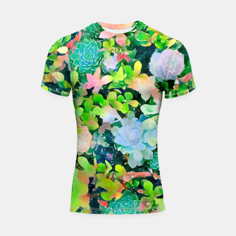 Miniatur The Desert Works Constantly To Forbid It, But The Cactus Blooms Anyway Shortsleeve rashguard, Live Heroes