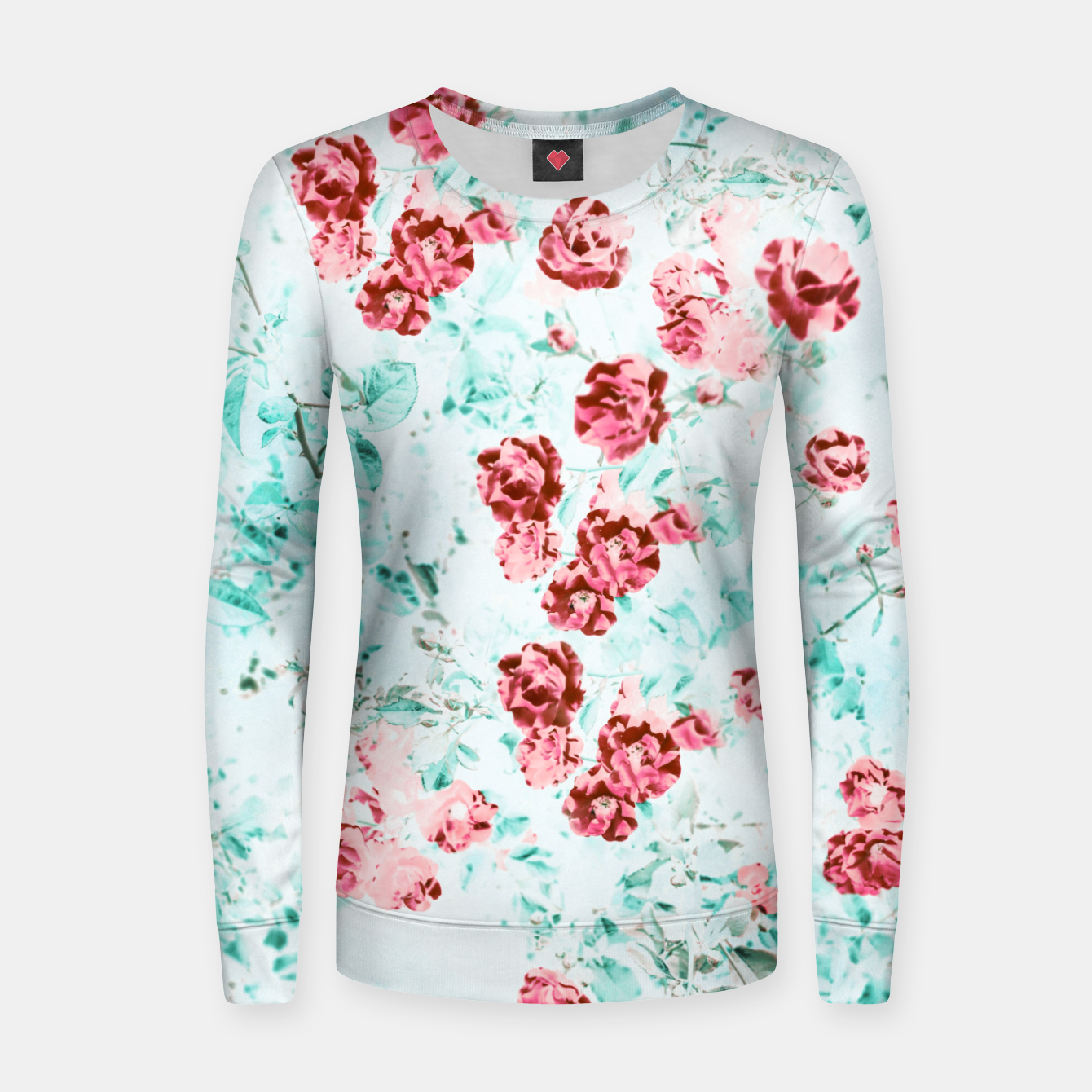 Image of Floral Dream Women sweater - Live Heroes