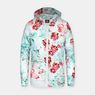 Thumbnail image of Floral Dream Zip up hoodie, Live Heroes