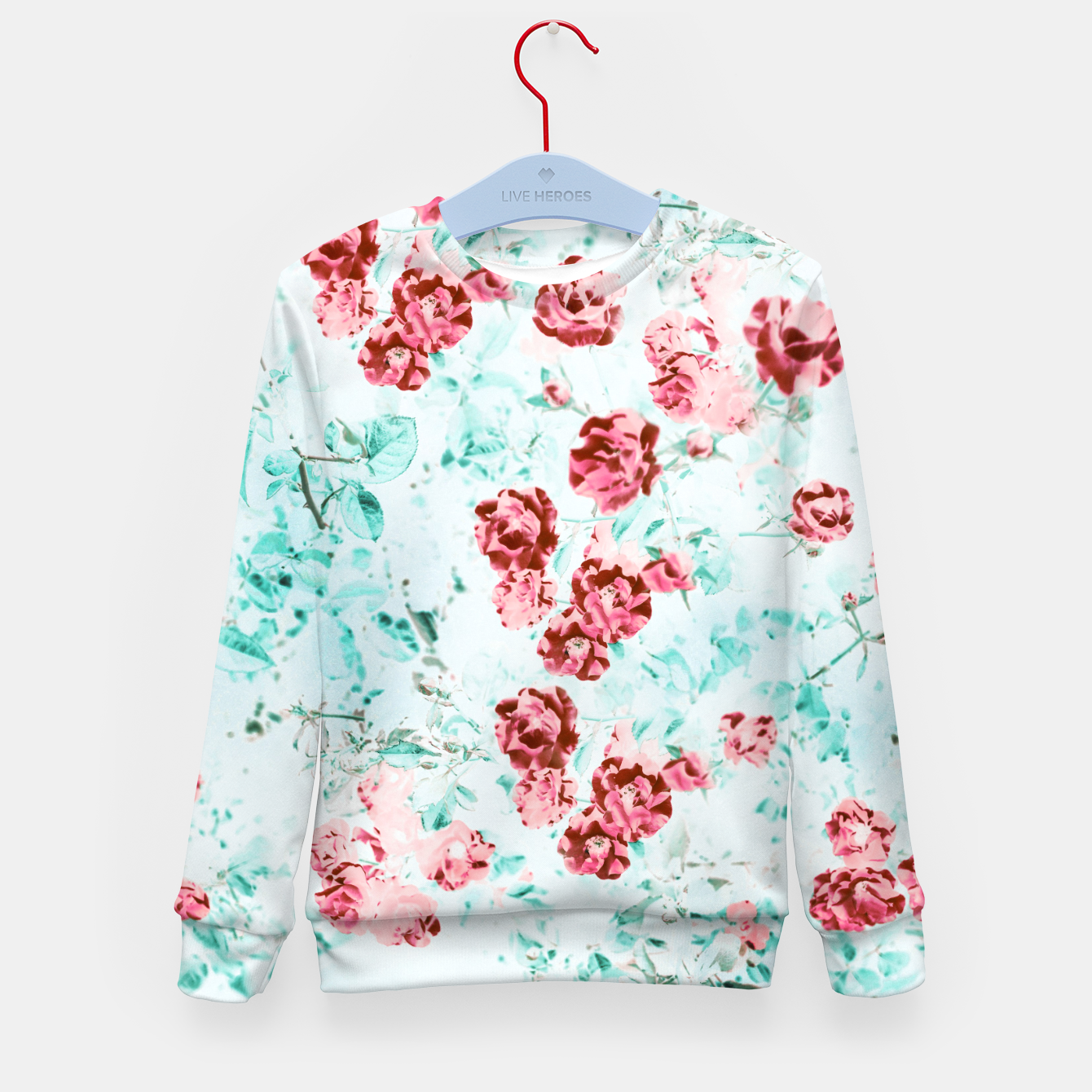 Image of Floral Dream Kid's sweater - Live Heroes