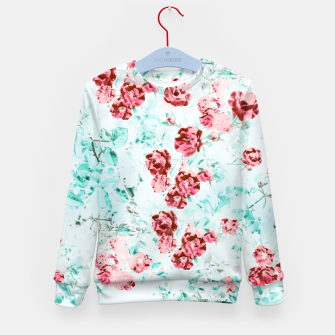 Thumbnail image of Floral Dream Kid's sweater, Live Heroes