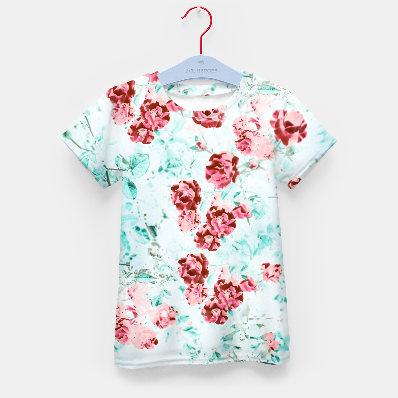 Image of Floral Dream Kid's t-shirt - Live Heroes