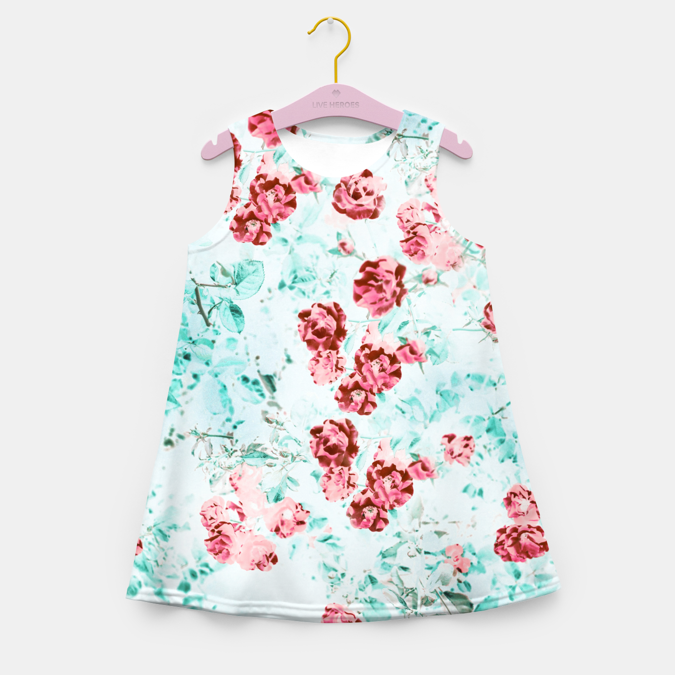 Image of Floral Dream Girl's summer dress - Live Heroes