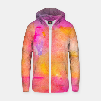 Be A Rainbow In Someone's Zip up hoodie thumbnail image
