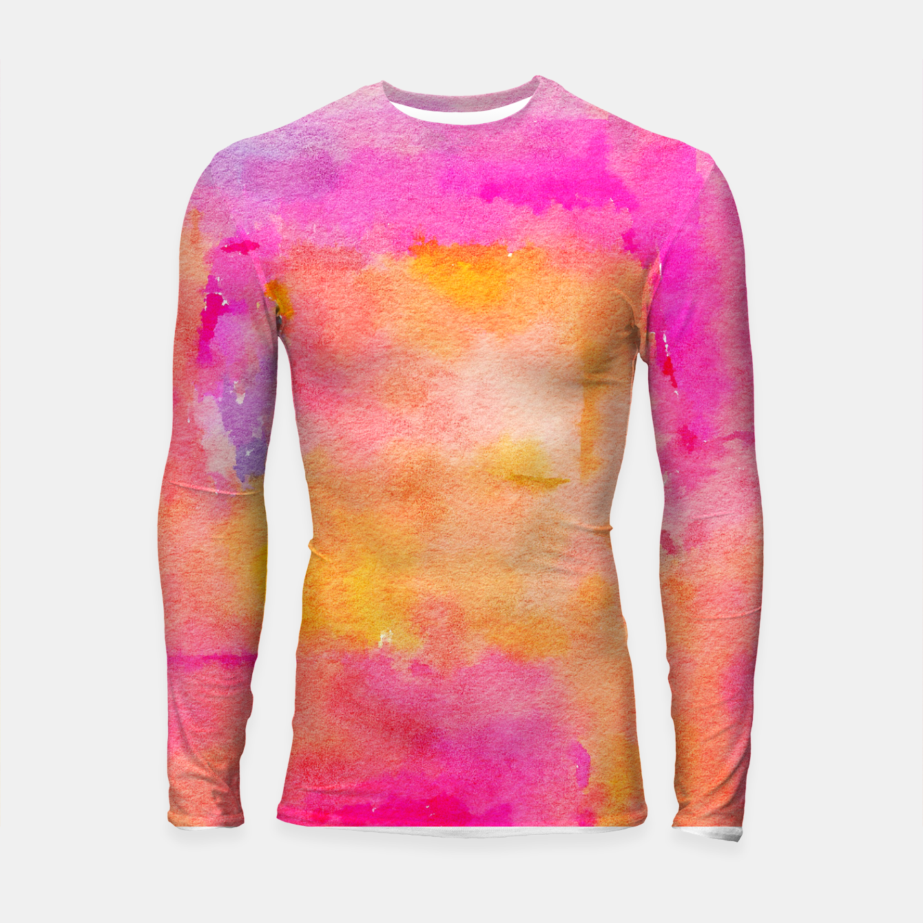 Image of Be A Rainbow In Someone's Longsleeve rashguard  - Live Heroes