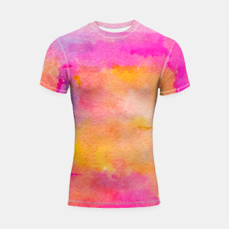 Thumbnail image of Be A Rainbow In Someone's Shortsleeve rashguard, Live Heroes