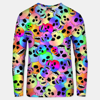 Thumbnail image of Happy Skulls Unisex sweater, Live Heroes