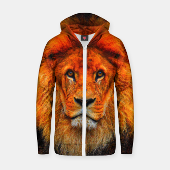 Thumbnail image of LIONS 2 Zip up hoodie, Live Heroes