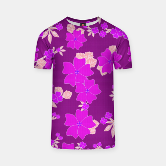 Thumbnail image of FLORAL DESIGN 39 T-shirt, Live Heroes
