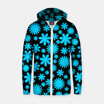 Thumbnail image of FLORAL DESIGN 251 Zip up hoodie, Live Heroes