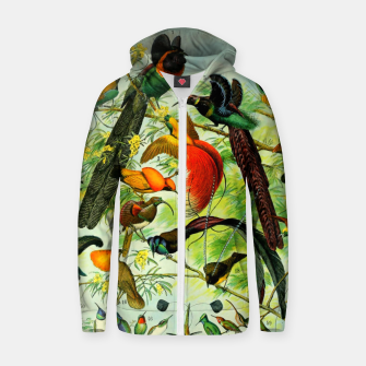 Thumbnail image of BIRDS-3 Zip up hoodie, Live Heroes