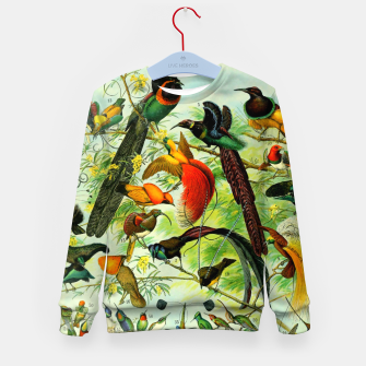 Thumbnail image of BIRDS-3 Kid's sweater, Live Heroes
