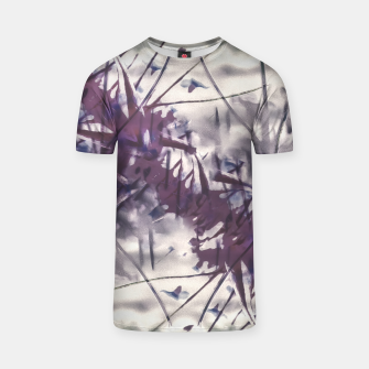 Thumbnail image of Digital Art Abstract Print T-shirt, Live Heroes