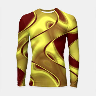 Thumbnail image of Golden waves Longsleeve rashguard, Live Heroes
