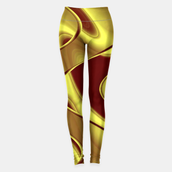 Thumbnail image of Golden waves Leggings, Live Heroes