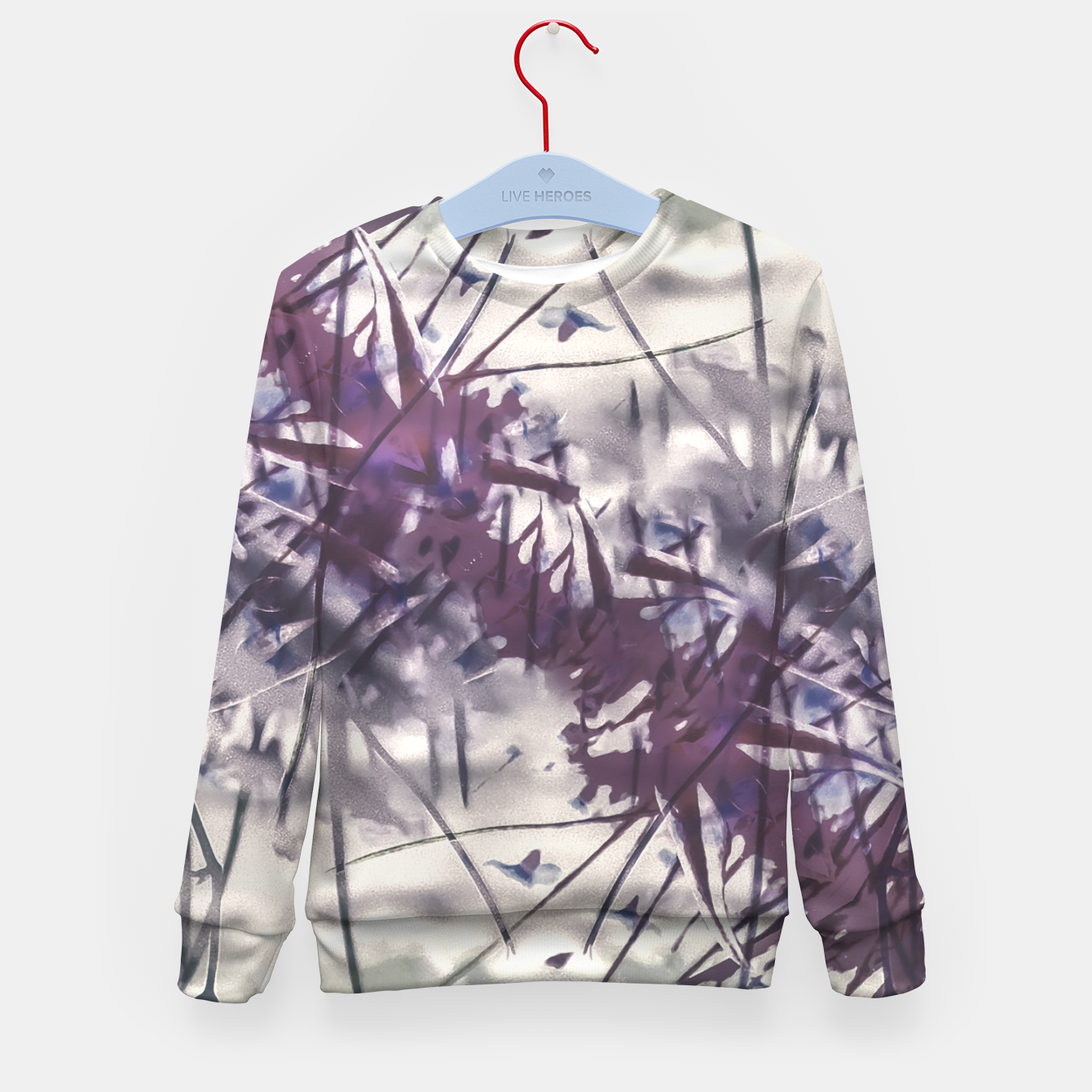 Image of Digital Art Abstract Print Kid's sweater - Live Heroes