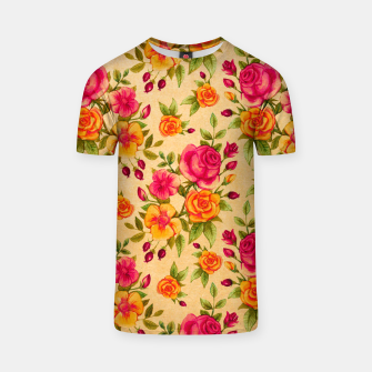 Thumbnail image of FLORAL DESIGN 13 T-shirt, Live Heroes