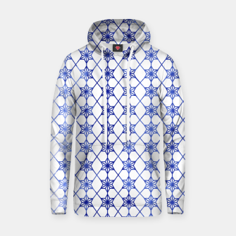 Thumbnail image of Blue And White Stars Hoodie, Live Heroes