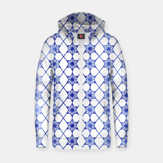 Thumbnail image of Blue And White Stars Zip up hoodie, Live Heroes