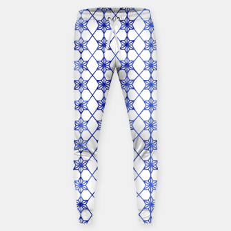 Thumbnail image of Blue And White Stars Sweatpants, Live Heroes