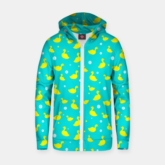 Thumbnail image of Just Ducky Zip up hoodie, Live Heroes