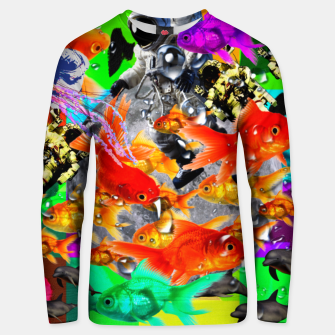 Thumbnail image of crazy dreamin' 3 Unisex sweater, Live Heroes