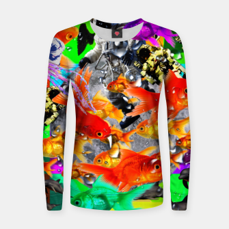 Thumbnail image of crazy dreamin' 3 Women sweater, Live Heroes