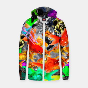 Thumbnail image of crazy dreamin' 3 Zip up hoodie, Live Heroes