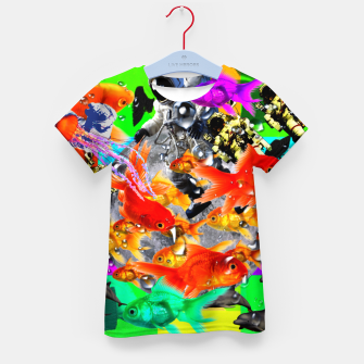Thumbnail image of crazy dreamin' 3 Kid's t-shirt, Live Heroes
