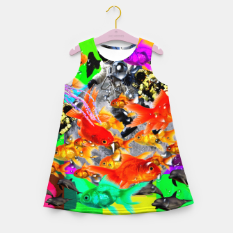 Thumbnail image of crazy dreamin' 3 Girl's summer dress, Live Heroes