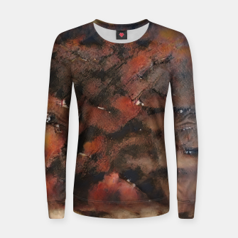 Thumbnail image of abstract 5 Women sweater, Live Heroes