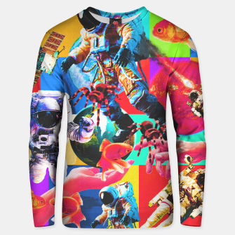 Thumbnail image of crazy dreamin' 2 Unisex sweater, Live Heroes