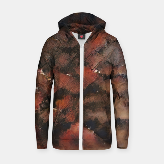 Thumbnail image of abstract 5 Zip up hoodie, Live Heroes