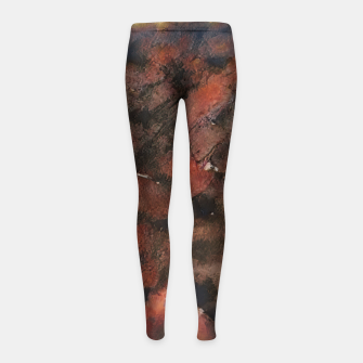 Miniaturka abstract 5 Girl's leggings, Live Heroes