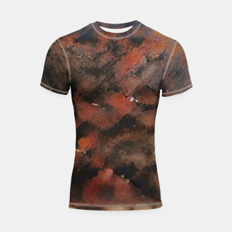Miniaturka abstract 5 Shortsleeve rashguard, Live Heroes